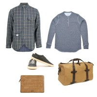 Han Kjobenhavn 50´s Army Shirt | Norse Projects Os Henley | Filson Duffle Bag | Common Projects Achilles Vintage Low | Wood Wood Laptop Bag discount sale voucher promotion code | fashionstealer