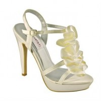 Ivy Ivory Bridal Shoes by Dyeables - Dyeables Shoes - Dyeable Wedding Shoes - Dyeable Bridal Shoes