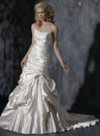Chic Sleeveless A-line Floor-length bridal gowns style 0bg00805 - $402| weddingdressbee.com