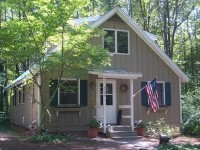 Saugatuck Vacation Rental - VRBO 65791 - 4 BR Southwest Cottage in MI, Perfect Cottage, Lake Mi Private Beach, Woods, Quiet, Clean
