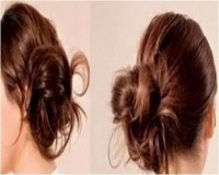 Side Swept Bun Hairstyles, Step by Step Beauty Guide