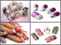 Apply Jeweled Nail Art Step by Step Beauty Guide