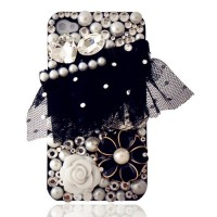 Iphone4/4S Case-Camellia and Pearl