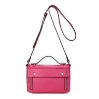 Full House Series Cow Leather Candy Color Double-duty Bag