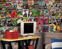 Marvel Comic Books Wallpaper Mural | Hi Consumption
