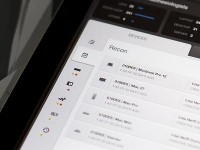 Device Dashboard - iPad - UI/UX/iOS by Jason Wu