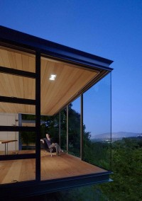 Nature-Embedded Retreats in Silicon Valley: Tea Houses by Swatt Miers Architects | Freshome