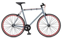 2012 Fuji Declaration Fixed Gear Bike Grey/Red - CityGrounds.com