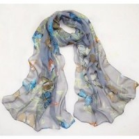 2012 Spring The Butterfly Printing Silk Scarves