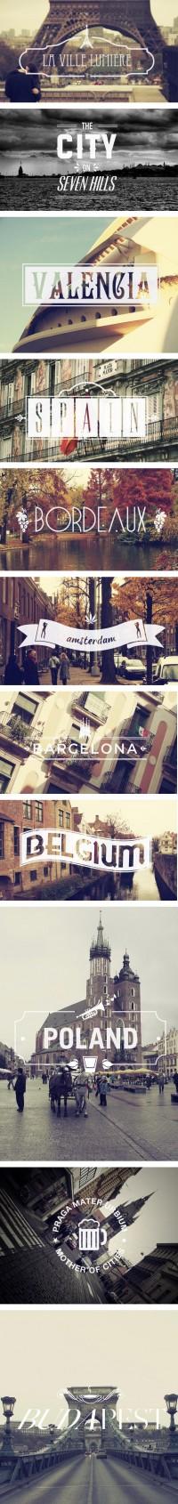 Graphisme & interactivité blog par Geoffrey Dorne » Des villes et des typos !