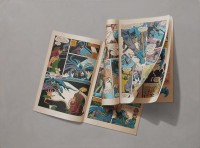 Sharon Moody's Photorealist Comic Book Paintings « Beautiful/Decay Artist & Design