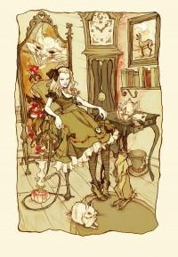 Art Work of Alice in Wonderland | nenuno creative