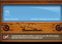 TunnelBear Homepage