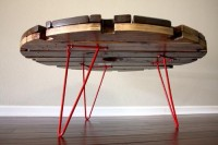 10 Brilliantly Upcycled Coffee Tables