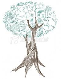 World Tree | Stock Illustration | iStock