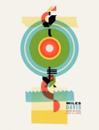 Warner Bros. Records Art Shows - Welcome Miles Davis by Dan Ibarra