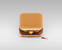 Food App Icons - Julian Burford