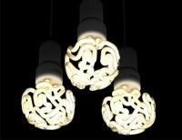 Brain Bulb: Curved Compact Fluorescent Fits Fixtures, Skulls | Designs & Ideas on Dornob