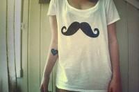 ? mustache, mustache, mustache.