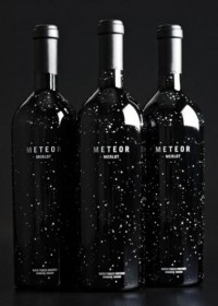 Designspiration — Meteor Merlot - Dion Label Printing - 800.583.6366 - Digital labels, Shrink Sleeves, Custom Labels, Custom stickers, Labels, tags, & tickets