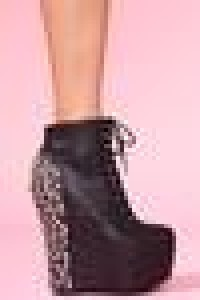 Damsel Spike Wedge Boot in Shoes at Nasty Gal