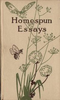 Volume Cover: Homespun Essays | PhotoSeed
