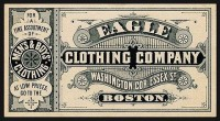 Eagle Clothing Company | Sheaff : ephemera