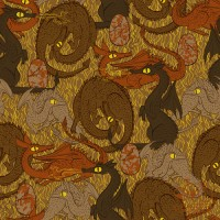 paperbicycle: Daily Pattern: Dragons