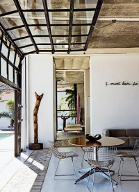 A dining room inside out - Marie Claire