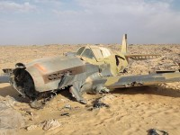 "Pictures: World War II ""Time Capsule"" Fighter Found in Sahara"