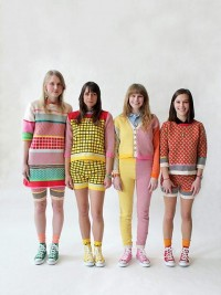 Colourful knitwear from Annie Larson — Lost At E Minor: For creative people