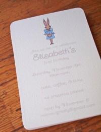 simple, invitations - no return address
