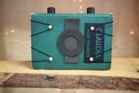 Erin Paysse upcycles hardback books to create vintage pinhole cameras