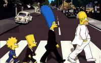 Abbey Road parody The Simpsons The Beatles - Wallpaper (#99) / Wallbase.cc