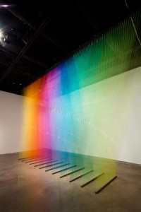 Thread Installation by Gabriel Dawe | Design Milk