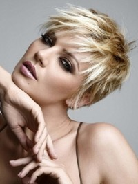 Messy Short Hairstyles Ideas