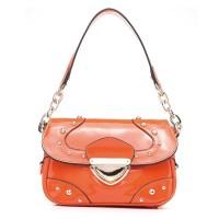 Glisten Enamel Leather Series Long Version Bags