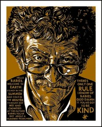 Nakatomi Inc - Vonnegut Prints by Doyle now available!