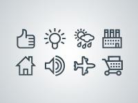 Vectory icon set by Icojam