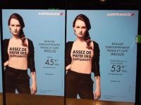 Campagne de publicité Air France 2011 : des T-Shirt | Concept Store