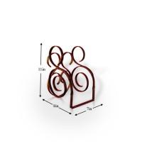 Buy Iron Book Holder   Racks & Cabinets   Pepperfry.com