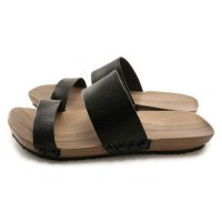 Mens Mohop Handmade WoodSole SlideStyle Sandals by mohop on Etsy