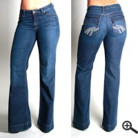 AMULET FLARE JEAN - Jeans/Bottoms