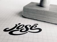 stamp. by José