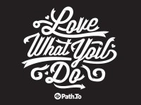 Path.To Shirt Design by Tron Burgundy