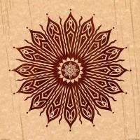 ozorahmi wood mandala Art Print by Peter Patrick Barreda | Society6