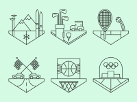 Sports Crests. by Tim Boelaars