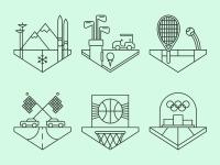 Sports Crests. by Tim Boelaars