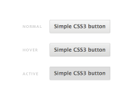 Simple CSS3 button by Rodrigo Galindez