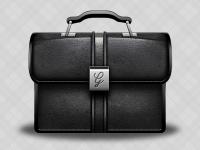 Briefcase Vector by George Gliddon